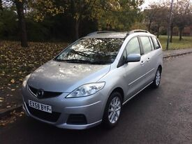 2008 Mazda 5 1.8 TS2-1 previous owner-7 seater-September 2017 mot-service history-exceptional value