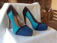 BCBGeneration suede ladies heels - size 37/4
