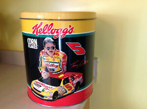 TERRY LABONTE #5 NASCAR KELLOGG'S COLLECTABLE CAN