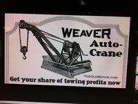weaver auto crane