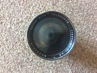 Unitor telephoto lense