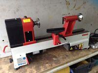 Brand New unused Axminster AH1218vs woodturning wood lathe