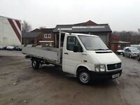 2005 VW lt35 2.5 tdi lwb 14 ft alloy dropside pickup