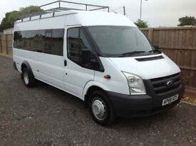 2009 FORD TRANSIT 2.4TDCI 115BHP T430L RWD LWB 1 OWNER FROM NEW NOT VAT