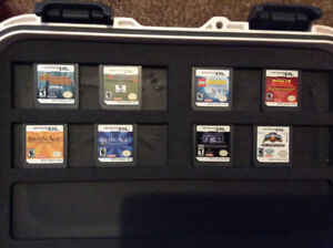 Nintendo DS, Games and Hard Shell Case For Sale, plus DVD Movies