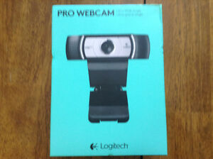 Brand new Logitech ultra wide hd 1080 pro web cam Cambridge Kitchener Area image 1