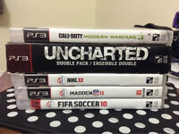 6 PS3 GAMES FOR SALE CHEAP!!!