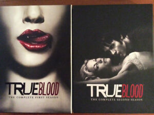 True Blood DVD box sets-Seasons 1-3