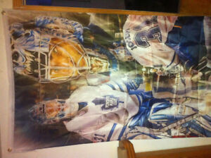 Curtis Joseph ,Toronto maple leafs flag nhl 90x150cm