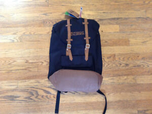 Black U of A Backpack New With Tags