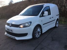 VOLKSWAGEN CADDY 1.6 TDI BLUEMOTION 2013 62 REG 28 000 MILES