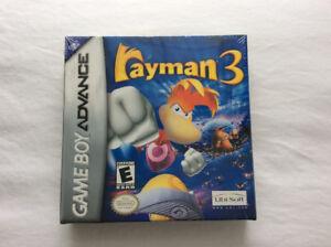 """Rayman 3"" (NINTENDO GBA - 2003) Still ""New & Sealed """