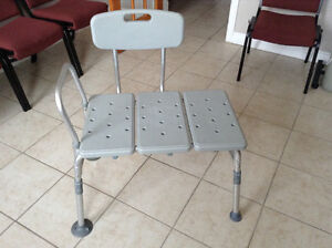Heavy Duty  Shower / Tub. chair. Several positions