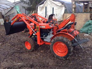 tracteur kubota B6100