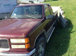 1997 GMC Sierra Pickup Truck