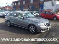 2010 (10 Reg) Mercedes E Class E200 CDI BlueEFFICIENCY AUTOMATIC 4DR Saloon GREY