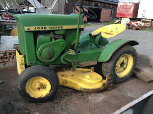 JOHN DEERE 110 (round fender )1965 CLASSIC RIDING MOWER Peterborough Peterborough Area image 1