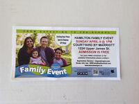 Hamilton Family Event