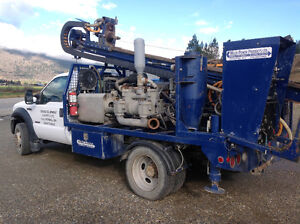 Expropriation/retirement sale gravel and drilling equipment