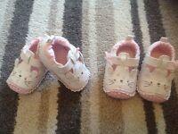 Baby girl pram shoes brand new
