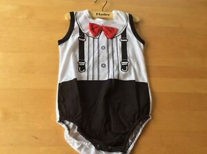 Tuxedo onsie brand new with tags 3t