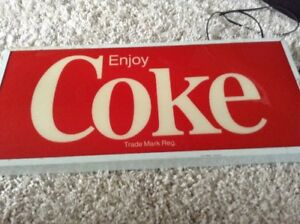 Coca Cola Light Sign.