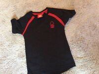 Kids Nottingham forest training top Age 6-7 small size