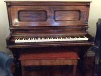 Antique Wooden Piano For Sale