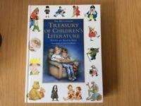 The Hutchinson Treasury Of Children's Literature Story Book Alison Sage