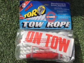 Job lot 100 tow ropes, warehouse clearance items, suit traders,car booters