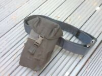 Belt bottle and pouch
