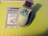 Scrapbooking tool: Xyron Design Runner kit