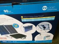 Fold up solar panel 90wp (used once for motorhome) still in box £150