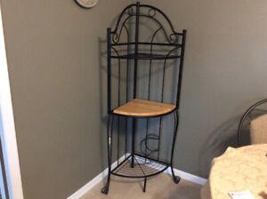 For Sale:  Corner Bakers Rack (Black)