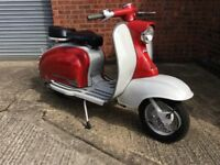 Delivery Available Uk Europe Fully Restored Vintage Italian Lambretta Li 150 S1 1959