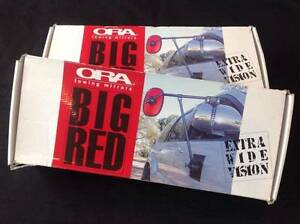 2 x Ora Big Red Magnetic Towing Mirrors 4WD 4x4 caravan boat BNIB North Adelaide Adelaide City Preview