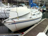 27' Catalina at with Central Vancouver Moorage