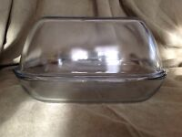 Pyrex England Large Domed Chicken Roaster