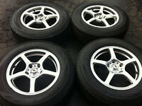 2009 Honda Odyssey Winter Tires With Alloy Rims (5x120 )