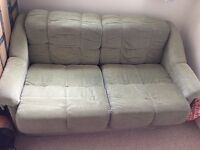 DOUBLE SOFA BED GREEN - FREE - COLLECTION ONLY