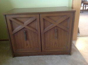 Coffee Table, Credenza and Side Table