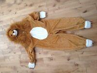 Costume d'halloween - lion 3-4 ans