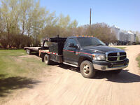 2007 truck and trailer