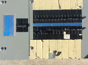 Blueline electrical panel