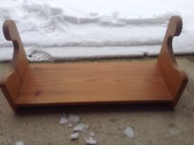Small pine shelf