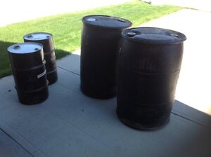 how to clean used plastic barrels