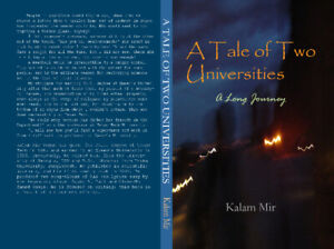 Book on Amazon: A Tale of Two Universities-A Long Journey