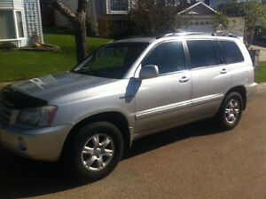 2003 Toyota Highlander Limited SUV, Crossover