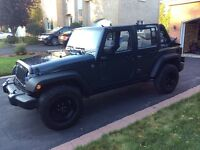 2008 Jeep Wrangler Rubicon unlimited SUV, Crossover