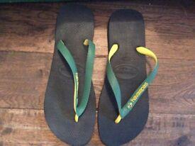 Men's Havaianas Flip Flops Size 43-44